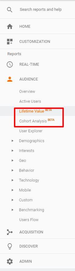 lifetime value cohort analysis