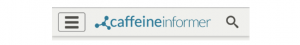 CaffeineInformer - Hamburger Icon