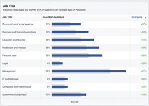 Facebook Job Title Data