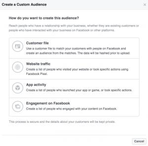 How to Create a Custom Audience