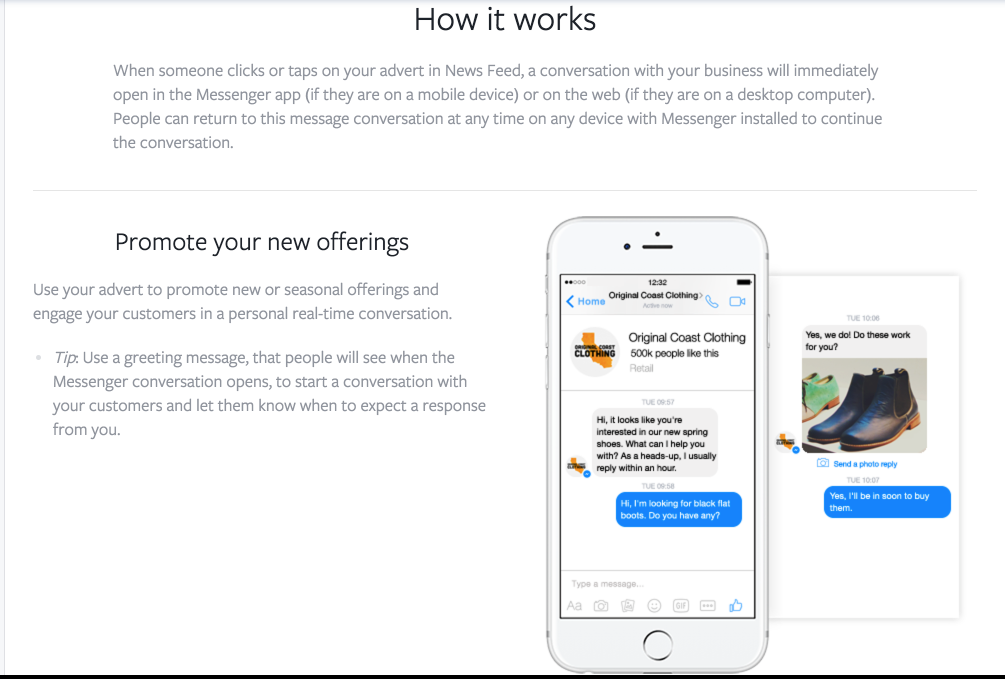 How Messenger Ads Work