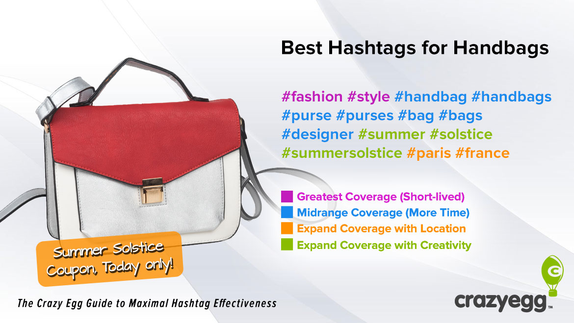 2a5551797809 First let s start with the most obvious hashtag   handbags. Next