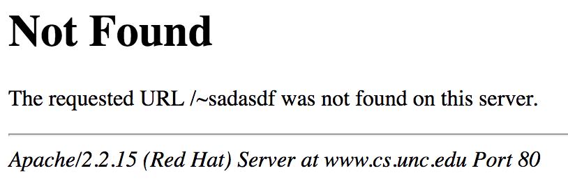 Not found 404