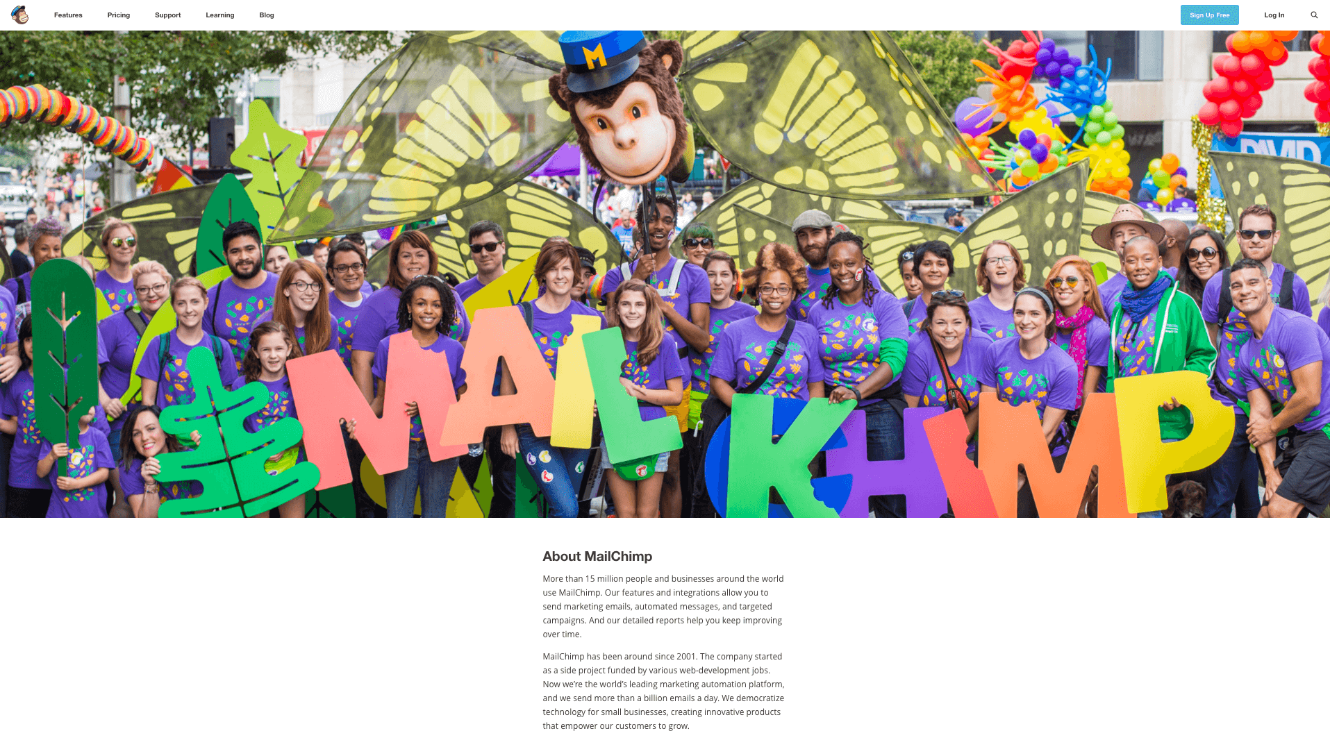 About Mailchimp
