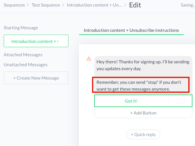 how to start a new multi message fb messenger