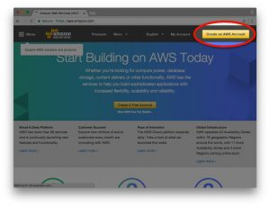 Create an AWS account