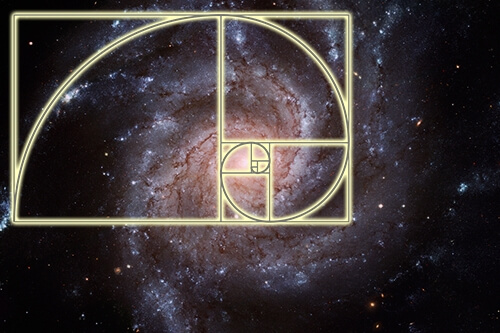 Golden ratio galaxy