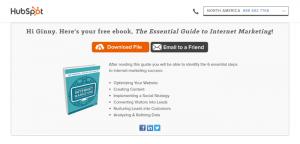 Hubspot free ebook
