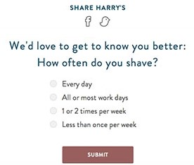 Share Harrys
