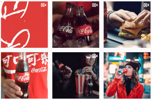 CocaCola Instagram photos