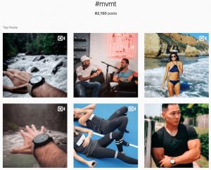MVMT Hashtag