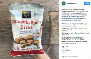 Wholefoods instagram