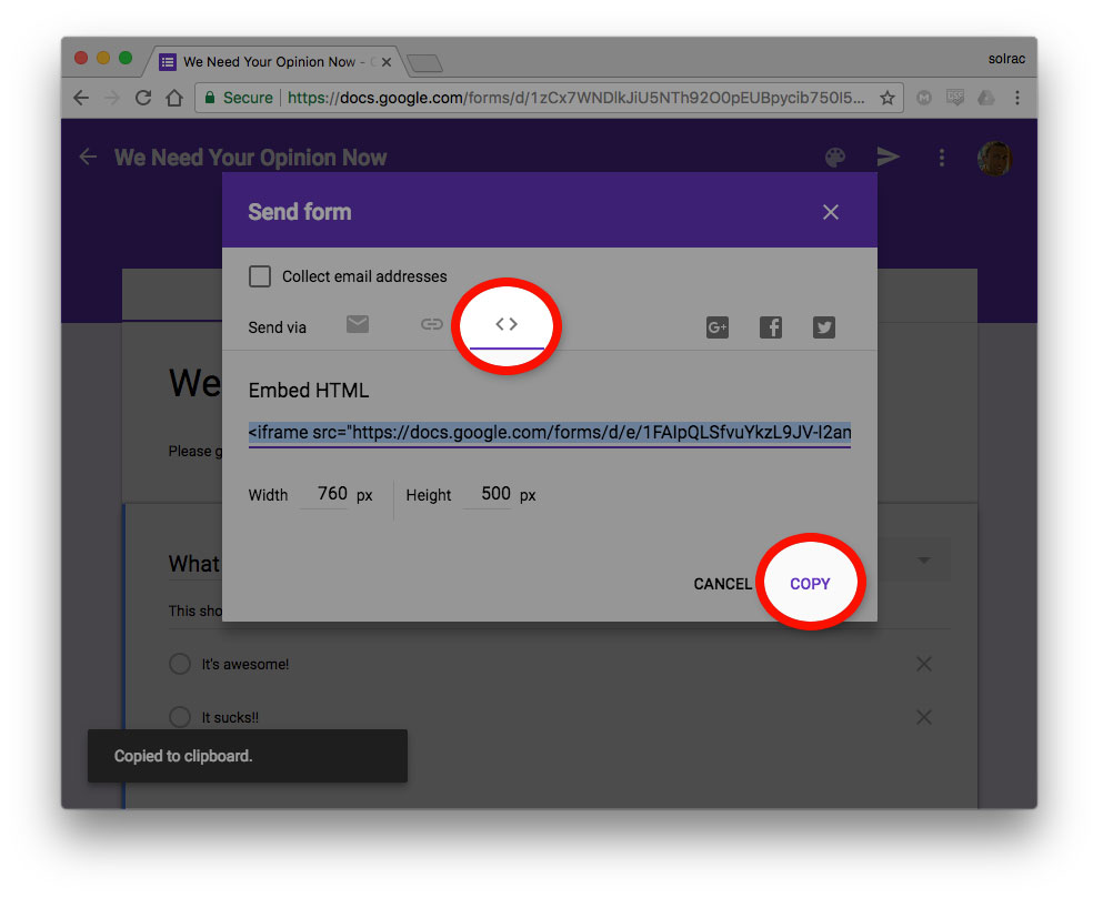 How To Easily Put A Form On Your Website