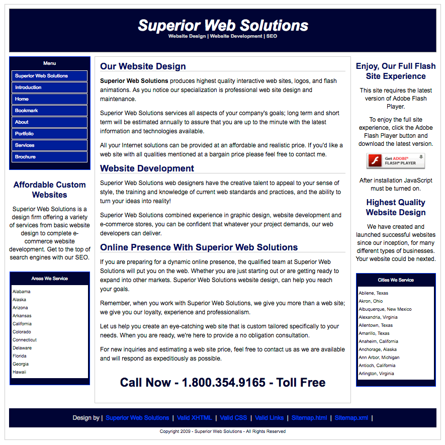 superior web solutions