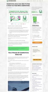 Blog Design, Sidebar, Full-width