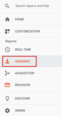 reports audience behavior