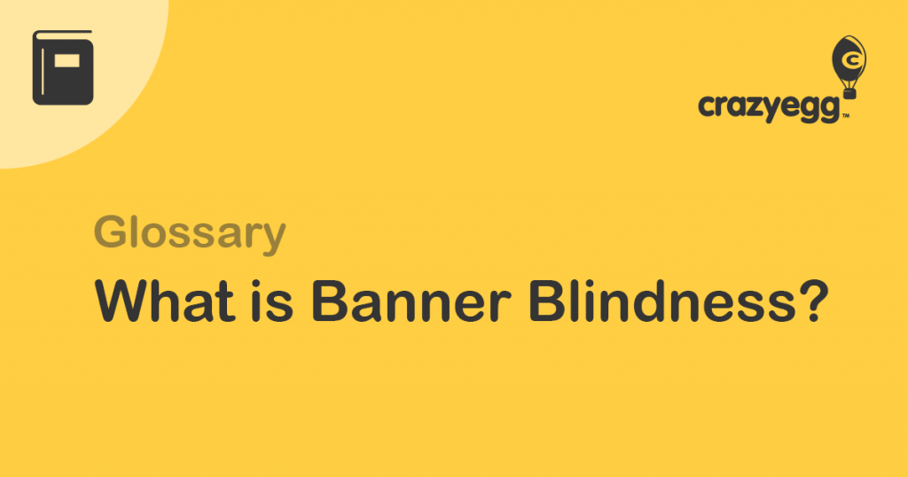 what is banner blindness