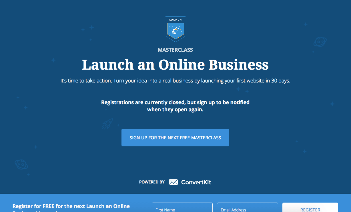 launch an online business