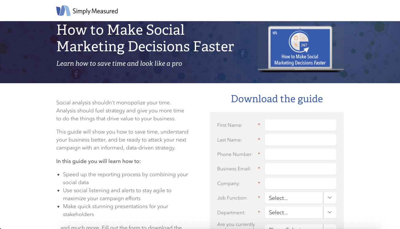 how to make social marketing decisions faster