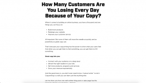 how many customers are you losing