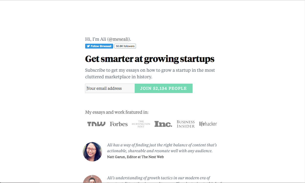 get smarter at growing startups