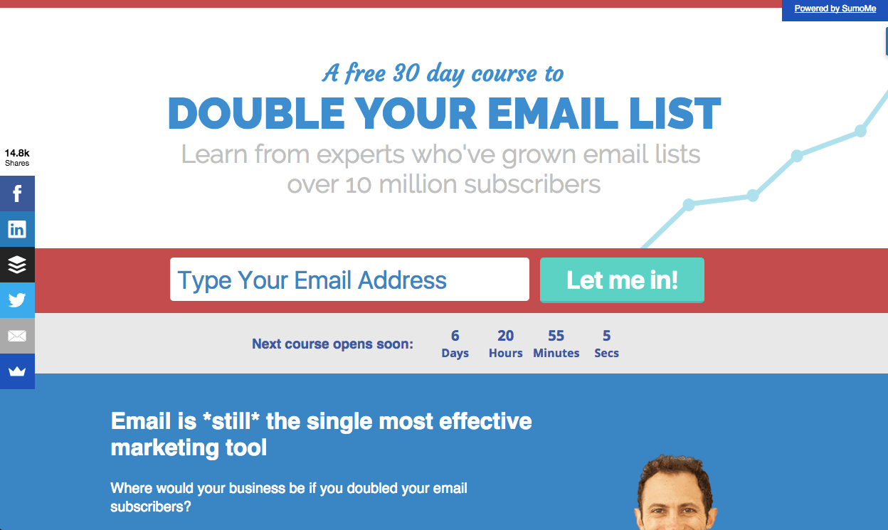 double your email list