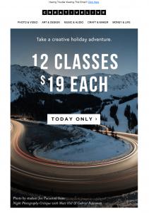 12 classes 19 Each