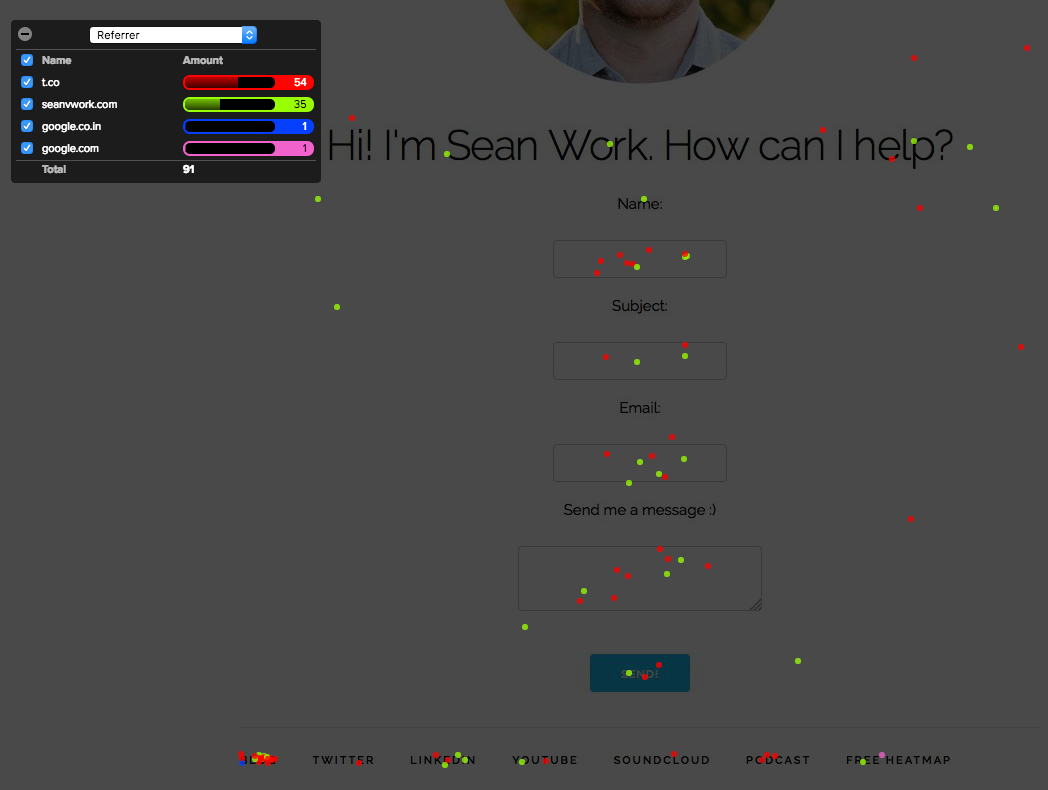 sean work homepage
