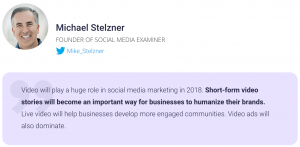 Michael Stelzner Founder of Social Media Examiner