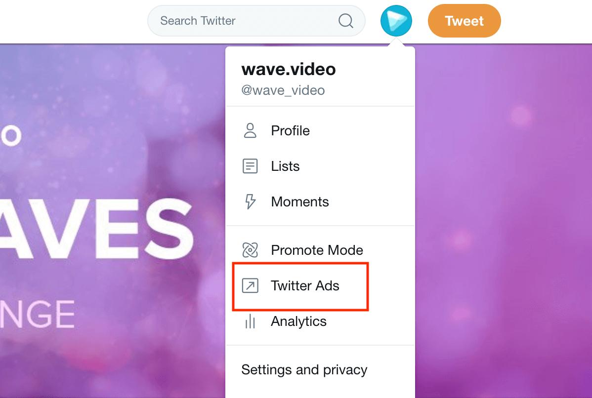 Wave Twitter Ads