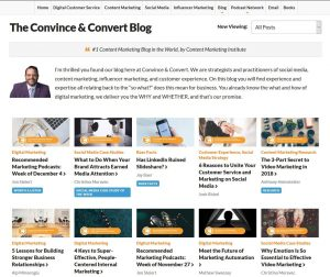 The convince and convert blog