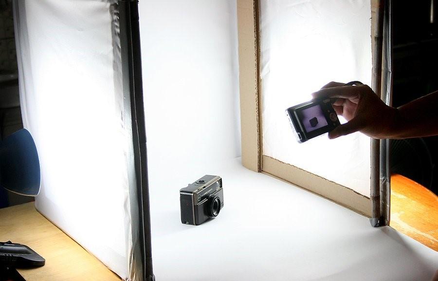 lightbox photo