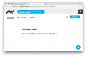 ninja forms add form fields