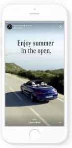Mercedes Benz UK ad