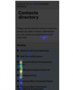 contacts directory A