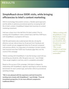 simplereach results