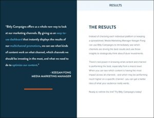bitly campaign results