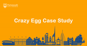 crazy egg case study portsmouth city council