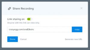share recording