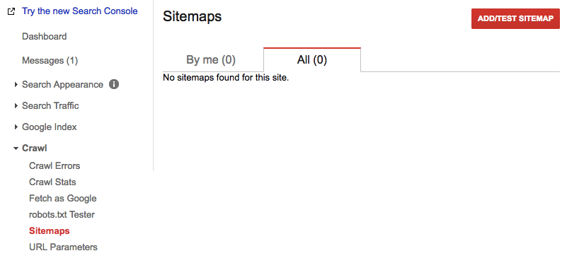 add test sitemap