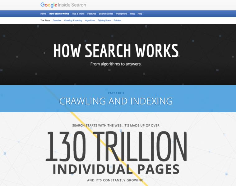 google sitemi nasıl endeksler