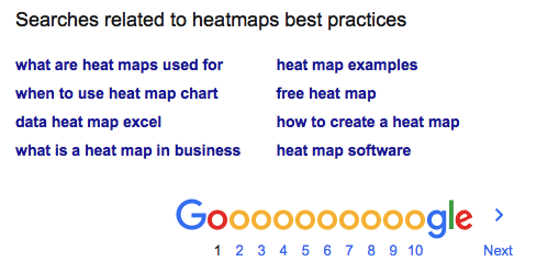 heat maps best practices 6
