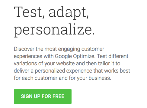 optimize signup ab testing