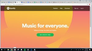 grab-attention-website-home-page-introduction-1-be-concise-spotify