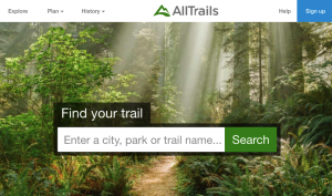 grab-attention-website-home-page-introduction-8-alltrails