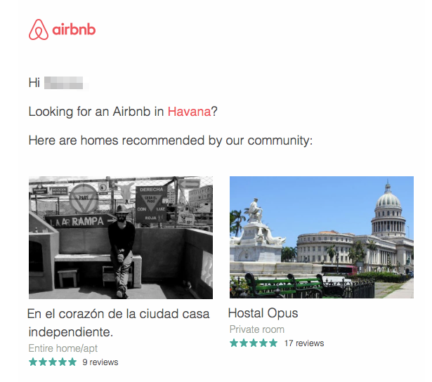 airbnb havana conversion funnel
