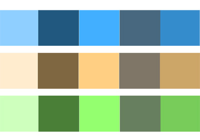 Finally A Complementary Palette Falls Somewhere Between Analogous And Monochromatic Schemes In Terms Of Variety Its Composed Colors