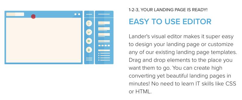 best-landing-page-service-lander-visual-editor