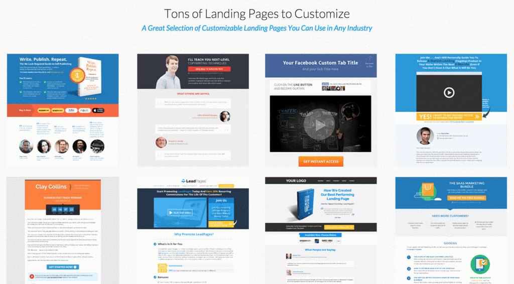 leadpages templates 1