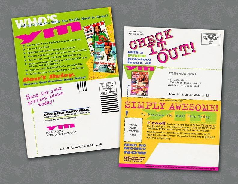 direct mail insert